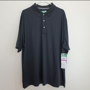 Ben Hogan black polo golf shirt